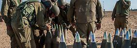 Krieg in Gaza könnte ausgweitet werden: Israel zerstört Raketenwerfer und Tunnel