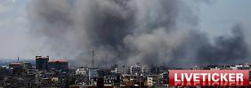 Liveticker zur Gaza-Offensive: +++ 12:44 Israel zieht Diplomaten aus Türkei ab +++