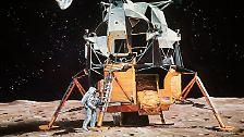 Ein kleiner Schritt wird zum großen Sprung: Der Mensch erreicht den Mond