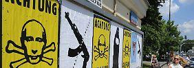"""Russlands Rolle in der Ukraine: """"Moskau setzt auf die Gewaltoption"""""""