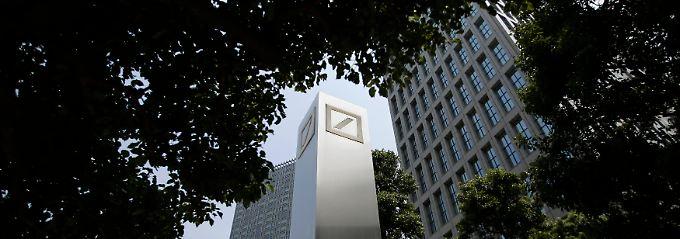 Weltweit aktiv: Die Deutsche Bank unterhält Niederlassungen in London, Tokio und New York.