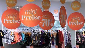 Deutsche in bester Kauflaune: Einzelhandel lockt mit massiven Rabatten