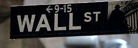 Dow unter 17.000: Quartalszahlen enttäuschen Wall Street