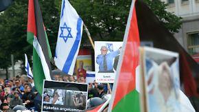 Tausende Polizeibeamte im Einsatz: Israelkritiker demonstrieren am Al-Kuds-Tag