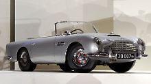 Blick in königliche Spielzimmer: Prinz 007 fährt Aston Martin
