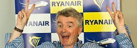 Optimismus nach Gewinnsprung: Ryanair zahlt Anlegern Sonderdividende