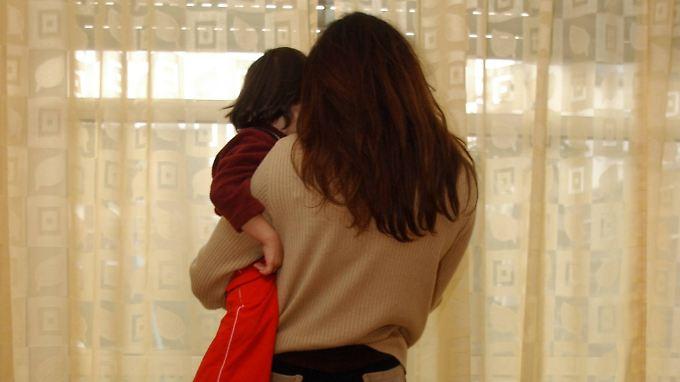Ängstliche Mütter haben häufiger  ängstliche Kinder.