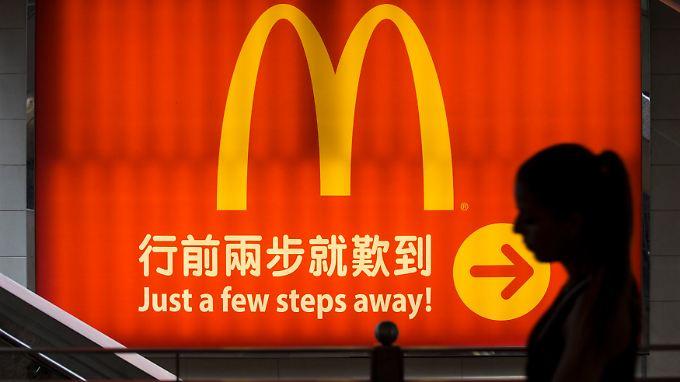 McDonald's kämpft in China derzeit mit einem Burger-Engpass.