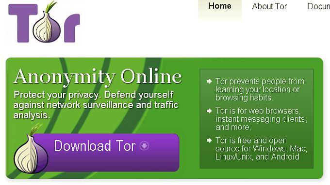 Wird unterstützt und bekämpft: Das Tor-Projekt.