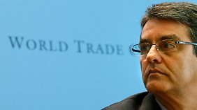 """""""Ich fürchte, dass es die kleineren und verletzlichen Volkswirtschaften sind, die leiden werden"""", sagte WTO-Chef Azevêdo."""