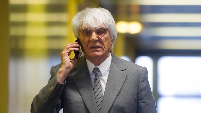 Bernie Ecclestone ist bereit zu zahlen.