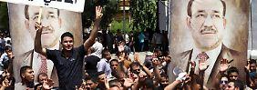 Offener Machtkampf in Bagdad: Irakischer Präsident nominiert Al-Abdadi