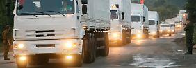 Hilfslieferung für Lugansk: Putins Konvoi ist ein geschickter Schachzug
