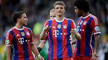Die Weltmeister treffen in Münster: FC Bayern erfüllt Pokalpflicht locker