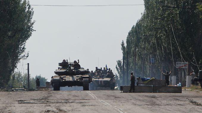 Die Besorgnis wächst, dass der Ukraine-Konflikt weiter eskaliert als ohnehin schon.
