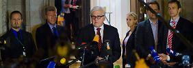 Diplomatie in der Ukraine-Krise: Die Nacht der finsteren Mienen