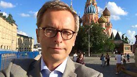 Dirk Emmerich berichtet für n-tv