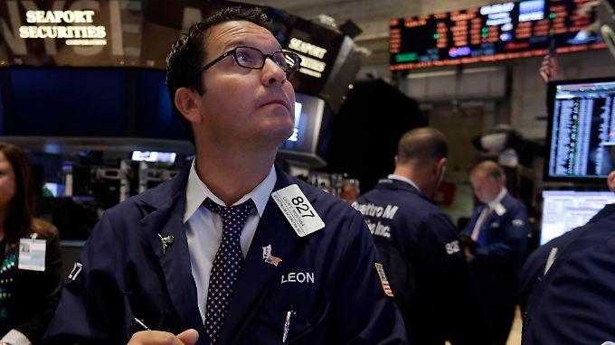 Der Dow Jones kennt am Dienstag nur einen Weg: nach oben.