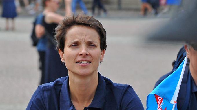 Frauke Petry ist AfD-Vizechefin und Vorsitzende der sächsischen AfD.