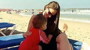 Sommer, Sonne, Raketenalarm: Israelis hoffen auf unbeschwerte Momente am Strand