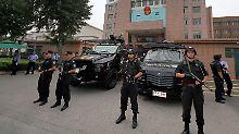 """Wegen """"terroristischer Angriffe"""": China richtet acht Verdächtige hin"""