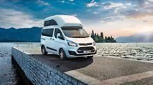 Ein echter Einsteiger für Campingfreunde ist der Ford Transit Nugget.