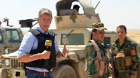 Schwieriger Kampf gegen IS: Peschmerga stehen fast nur veraltete Waffen zur Verfügung