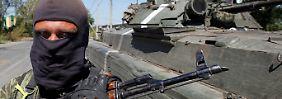Die ukrainische Armee liefert sich mit den Separatisten derzeit verlustreiche Kämpfe in der Gegend um Donezk.