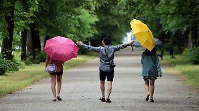 Ein Hauch von Sommer im Norden: Regen zieht nach Süden ab
