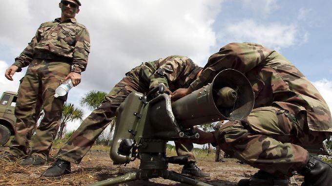 Alt, aber funktionstüchtig: Die Milan-Rakete ist ein effektives Panzerabwehrsystem.