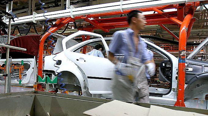 Eines der zahlreichen Werke von FAW-Volkswagen steht im chinesischen  Changchun.