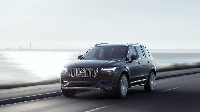 Mit dem XC90 will Volvo den deutschen Traditionsmarken Konkurrenz machen.