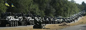 Gelenkte Offensive in Ostukraine?: USA sehen Russland als Strippenzieher