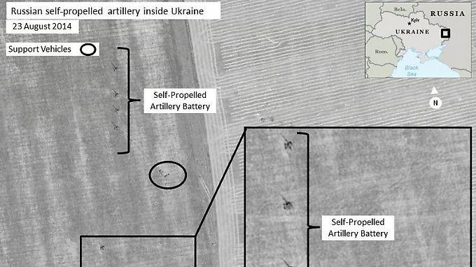 Video: Nato legt Satellitenfotos von russischen Truppen in Ukraine vor