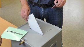 Landtagswahl in Sachsen: Letzte schwarz-gelbe Koalition steht vor dem Aus