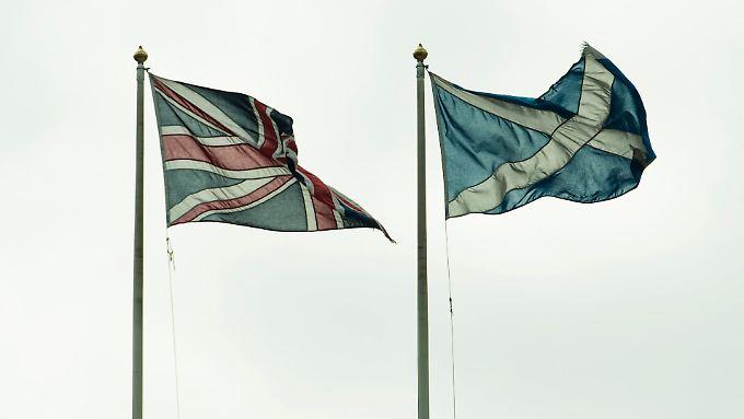 Dass Großbritanniens Atomwaffen in Schottland lagern, könnte ein Problem werden, sollte das Land sich abspalten.