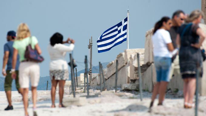 Der Tourismus kurbelt derzeit die Wirtschaftsleistung Griechenlands an.