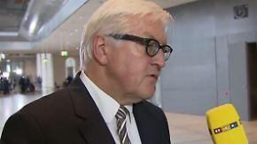 """Steinmeier im n-tv Interview: """"Es reicht nicht, nur Waffen zu liefern"""""""