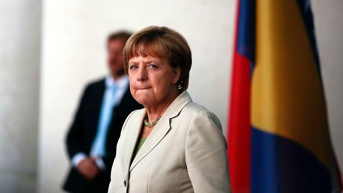 Wie geht's weiter in der Ukraine? Angela Merkel telefoniert regelmäßig mit Wladimir Putin, aber das Verhältnis zwischen Russland und Deutschland ist nachhaltig beschädigt.
