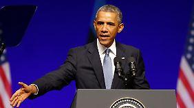 US-Präsident im Baltikum: Obama dämpft Hoffnung auf Waffenruhe in Ukraine