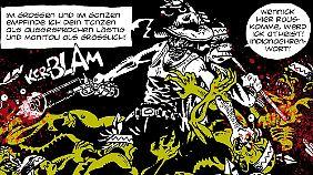Apachen-Zombies können eine Plage sein - da spürt Rocco am eigenen Leib.