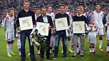 Abschied für DFB-Trio: Ovationen für WM-Helden