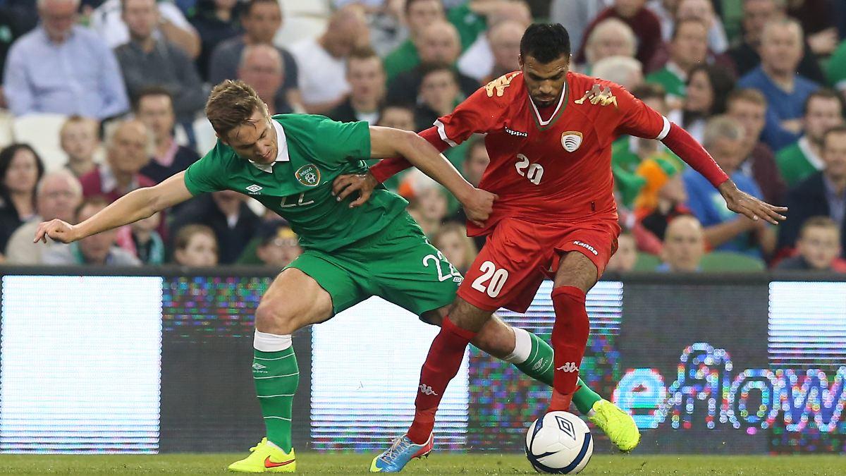 Irland Gegen England