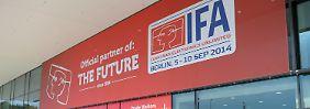 Elektronikmesse in Berlin: Internet-Dienste prägen Elektronik-Neuheiten auf der Ifa