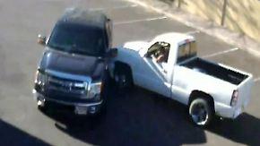 US-Polizei sucht Verkehrsrowdy: Autofahrer überfährt Mann nach Streit