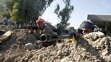 Peshmerga-Kämpfer gegen den IS im Irak.