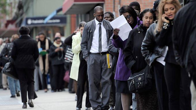 Sie Arbeitslosenquote liegt nur noch bei 5,3 Prozent in den USA.