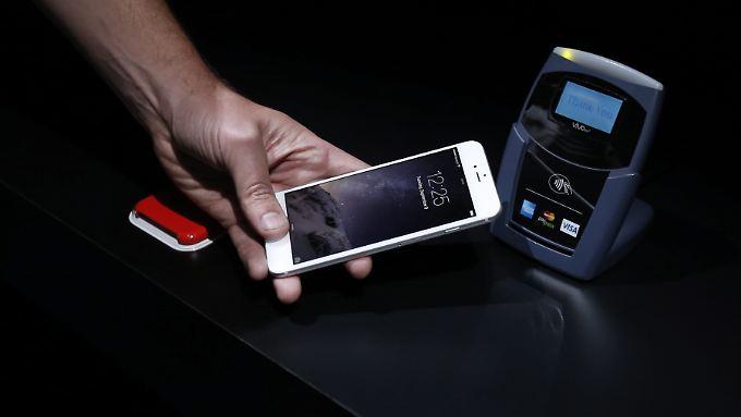 Für viele der wahre Star der Apple-Präsentation am Dienstag: Das Bezahlsystem Apple Pay.