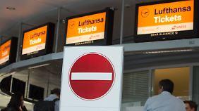 Pilotenstreik in München: Acht Stunden Ausstand kosten die Lufthansa Millionen