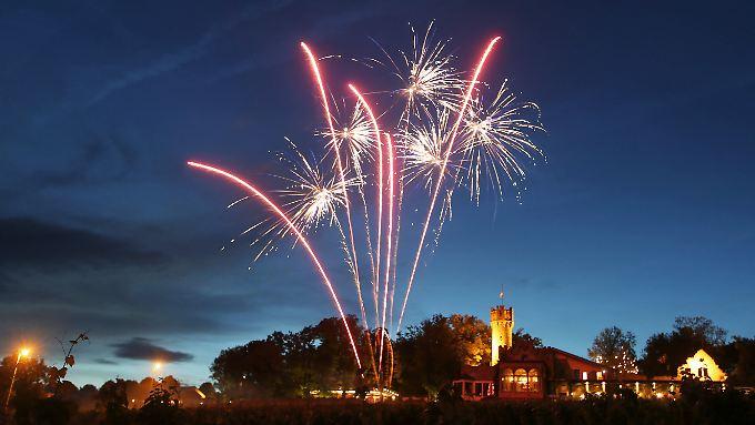 Ein frühzeitiges Feuerwerk kann auch erfreuen.